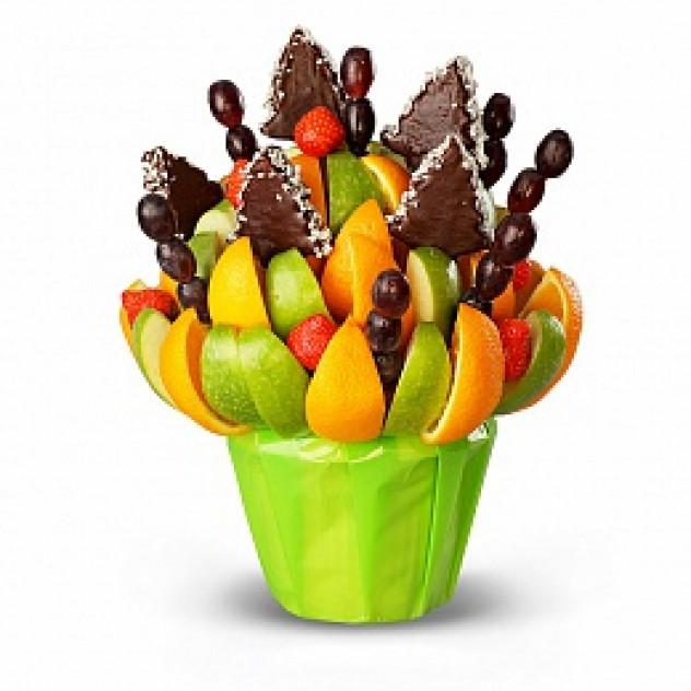 Шоколадные ёлочки