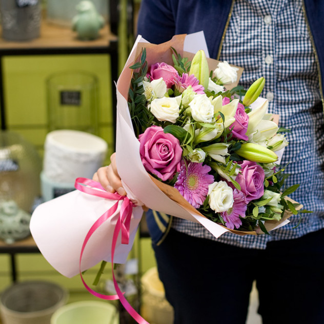 Доставка цветов в биробиджане, букет