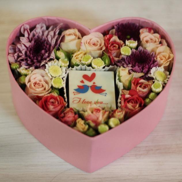 Коробочка-сердце для любимых