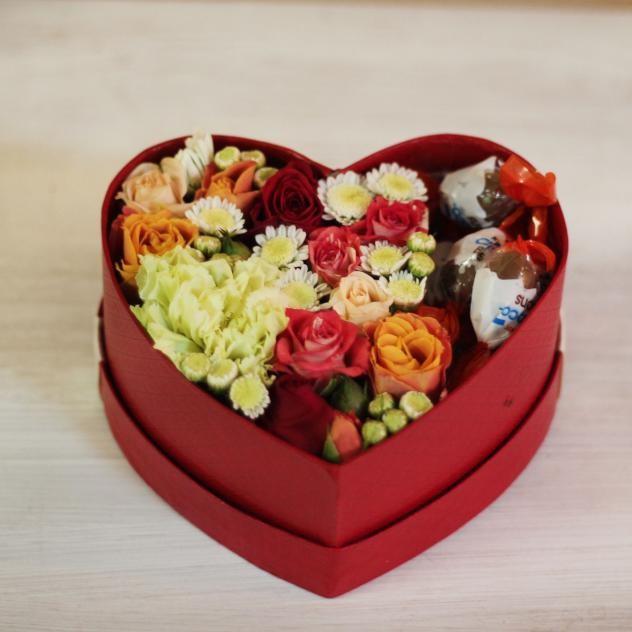 Коробочка-сердце с любовью