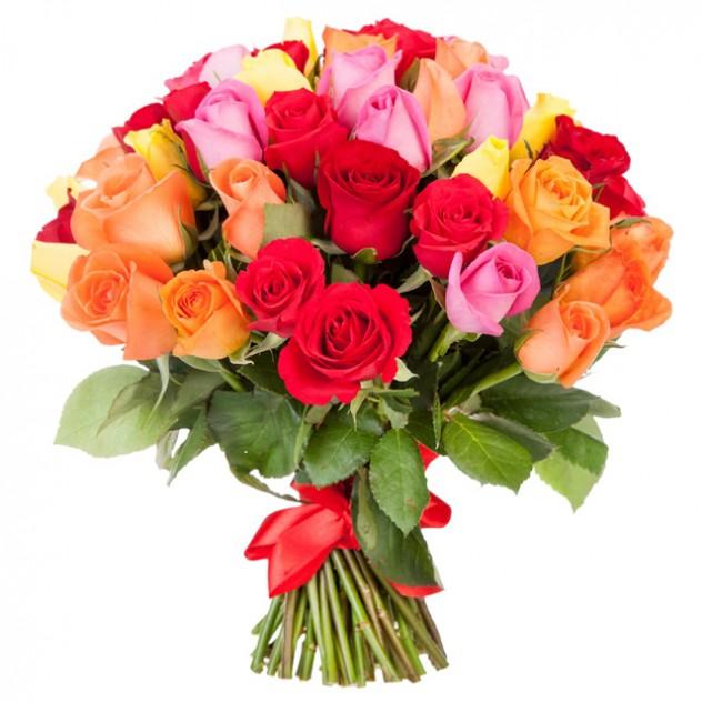"""Букет из 51 розы """"Африканская страсть"""""""
