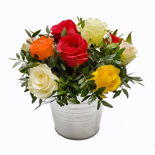 """Композиция с розами """"Идеальный подарок"""""""
