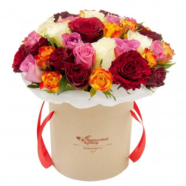 Магазин цветов, доставка цветов в санкт-петербурге круглосуточно розы в шляпной коробке