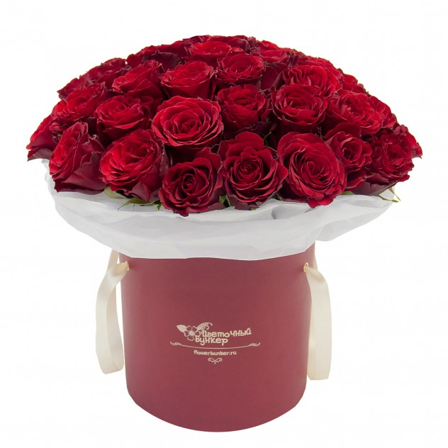 Доставка цветов москва спб в коробке, букет роз