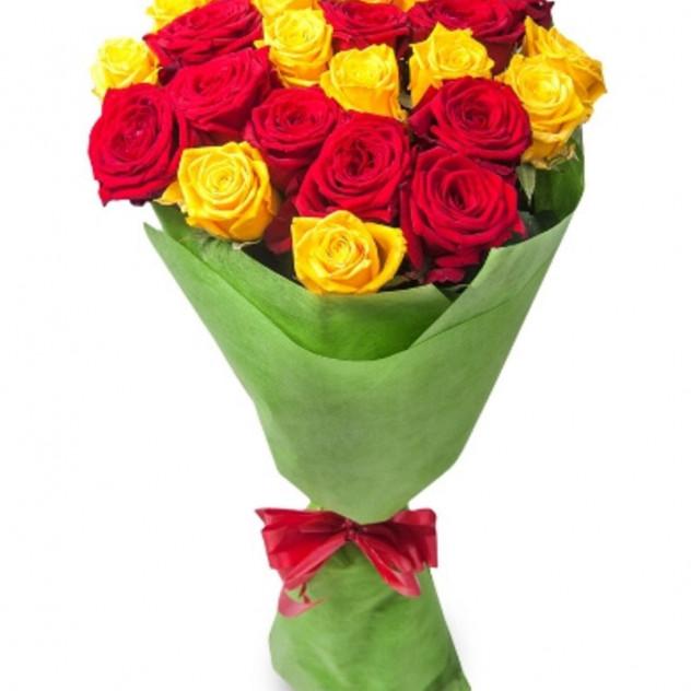 """Букет из 29 роз """"Гирлянда"""""""