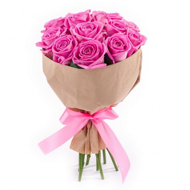 """Букет из розовых роз """"Роза ветров"""""""