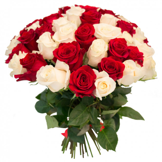 "Букет из 55 роз ""Донна Роза"""