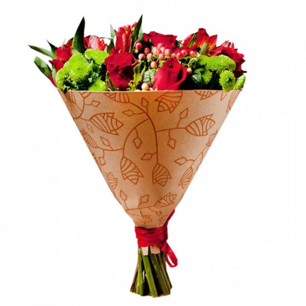 """Букет из цветов """"Шепот любви"""""""