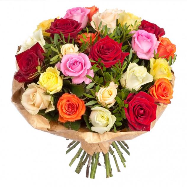 """Букет из 31 розы """"Драгоценная шкатулка"""""""