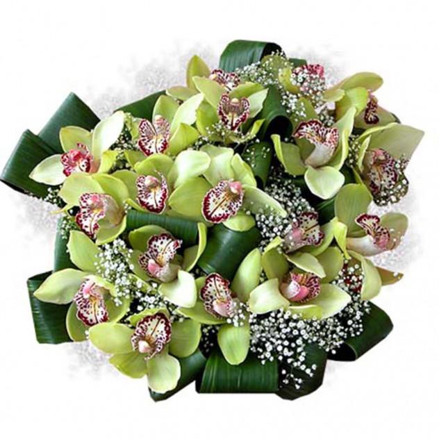 """Букет из орхидей """"Анаконда"""""""