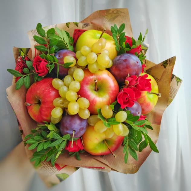"""Букет из фруктов """"Яблочный"""""""