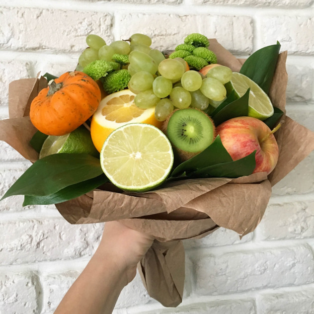 """Букет из фруктов """"Осенний"""""""