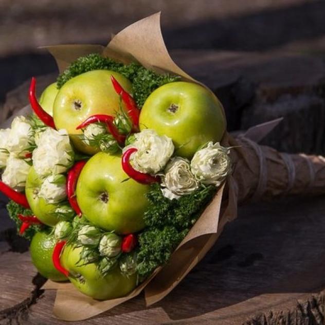 Яблочный Букет №261