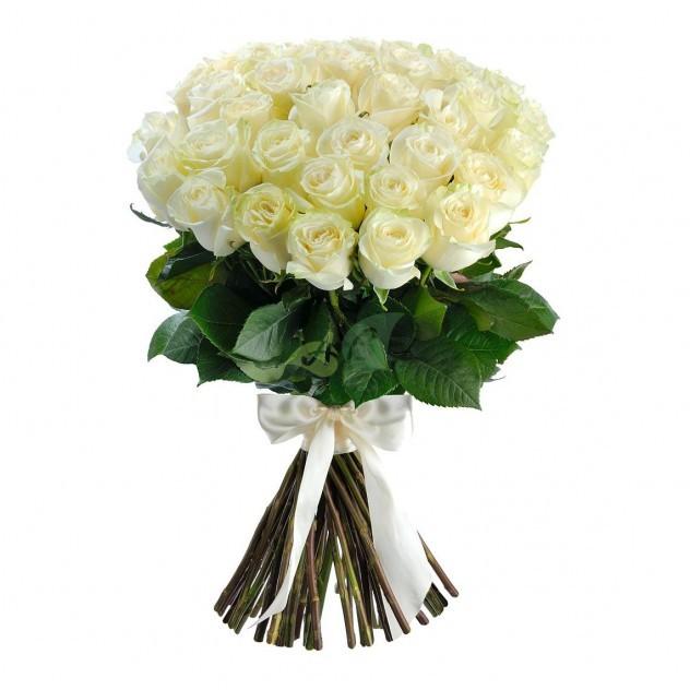 Букет из 51 элитной эквадорской розы
