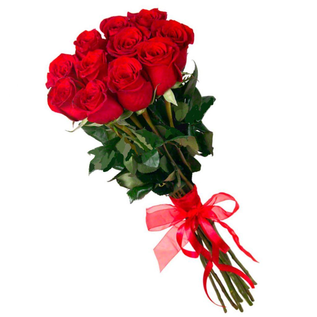 Букет из 11 красных роз премиум